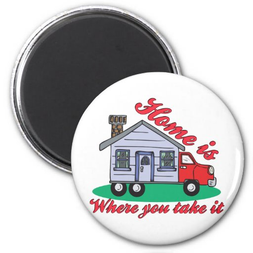 Funny Trailer Park Shirts and Gifts Fridge Magnet