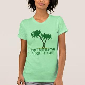 Funny treehugger women's tshirt