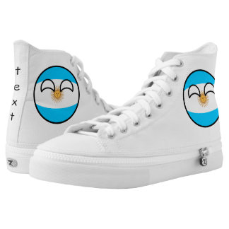 Funny Trending Geeky Argentina Countryball High Tops
