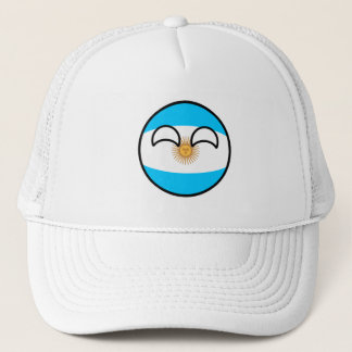 Funny Trending Geeky Argentina Countryball Trucker Hat