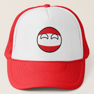 Funny Trending Geeky Austria Countryball Trucker Hat