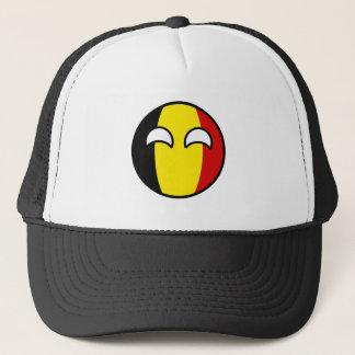 Funny Trending Geeky Belgium Countryball Trucker Hat