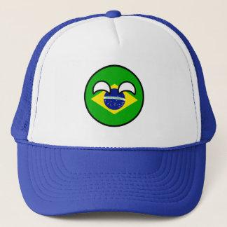 Funny Trending Geeky Brazil Countryball Trucker Hat