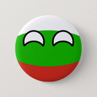 Funny Trending Geeky Bulgaria Countryball 6 Cm Round Badge