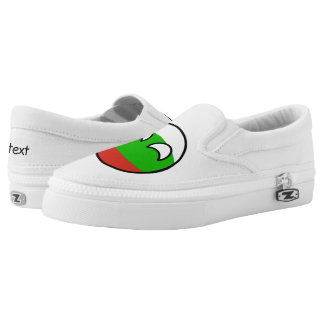 Funny Trending Geeky Bulgaria Countryball Slip-On Shoes