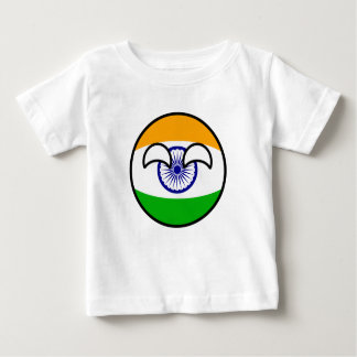 Funny Trending Geeky India Countryball Baby T-Shirt