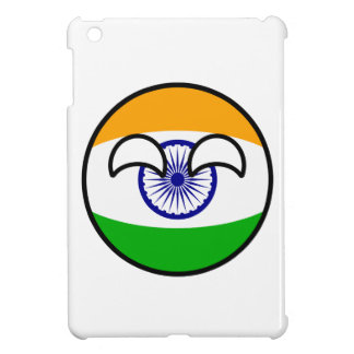 Funny Trending Geeky India Countryball iPad Mini Cases