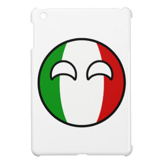 Funny Trending Geeky Italy Countryball Cover For The iPad Mini