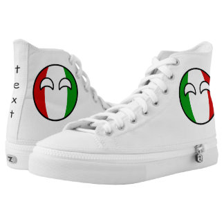 Funny Trending Geeky Italy Countryball High Tops