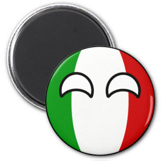 Funny Trending Geeky Italy Countryball Magnet