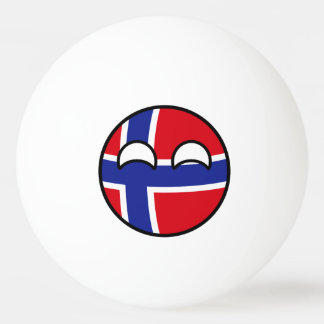 Funny Trending Geeky Norway Countryball