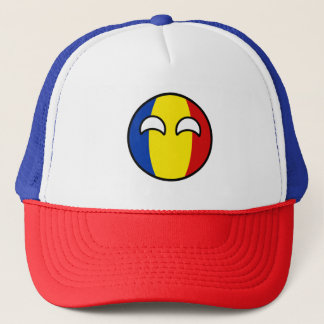 Funny Trending Geeky Romania Countryball Trucker Hat