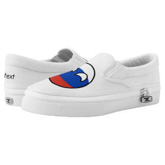 Funny Trending Geeky Russia Countryball Slip On Shoes