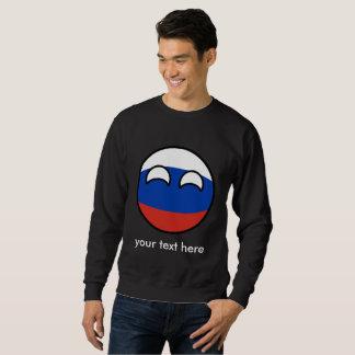 Funny Trending Geeky Russia Countryball Sweatshirt
