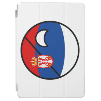 Funny Trending Geeky Serbia Countryball iPad Air Cover