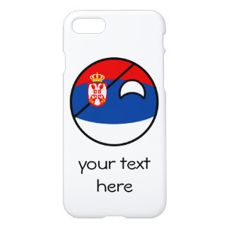 Funny Trending Geeky Serbia Countryball iPhone 7 Case