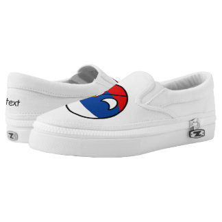 Funny Trending Geeky Serbia Countryball Slip-On Shoes