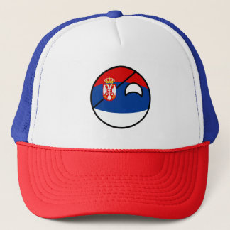 Funny Trending Geeky Serbia Countryball Trucker Hat