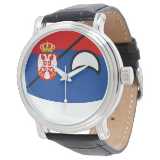 Funny Trending Geeky Serbia Countryball Watch