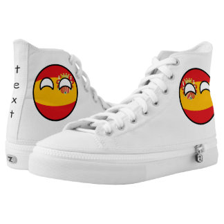 Funny Trending Geeky Spain Countryball High Tops