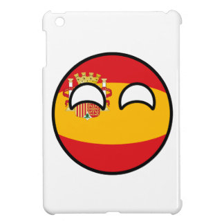 Funny Trending Geeky Spain Countryball iPad Mini Cover