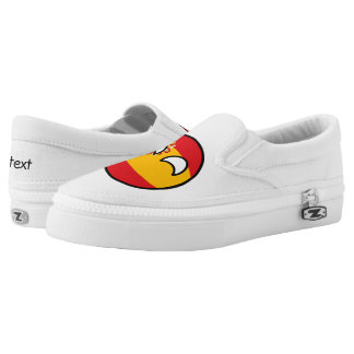 Funny Trending Geeky Spain Countryball Slip On Shoes