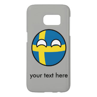 Funny Trending Geeky Sweden Countryball