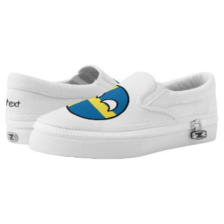 Funny Trending Geeky Sweden Countryball Slip On Shoes