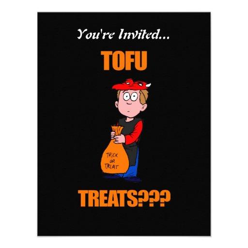Funny Trick or Treat Halloween Invite