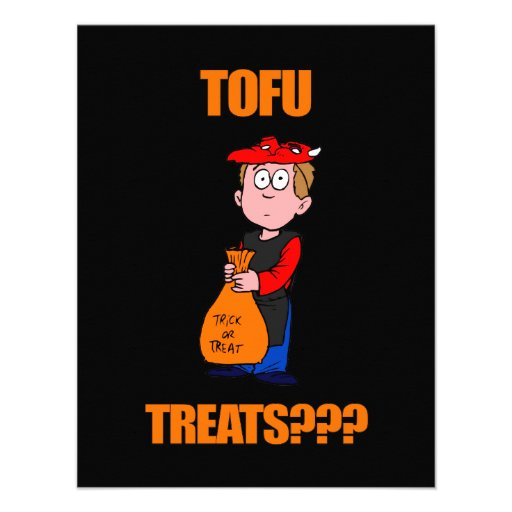 Funny Trick or Treat Halloween Personalized Announcement