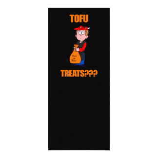 Funny Trick or Treat Halloween 4x9.25 Paper Invitation Card