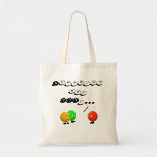 Funny Trick or Treat Tote Bag