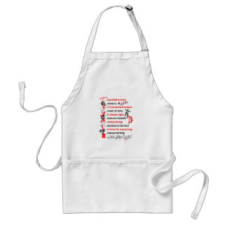 Funny Trini Description 2 Standard Apron