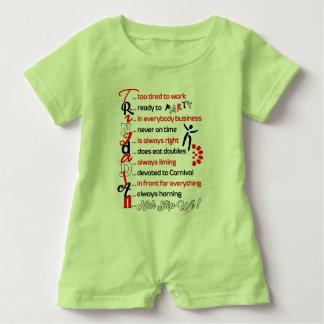 Funny Trini Description-Baby Romper Baby Bodysuit