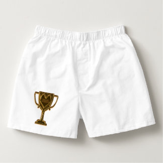 Funny Trophy Husband Boxers