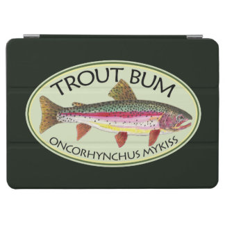 Funny Trout Bum Fisherman's iPad Air Cover