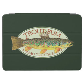 Funny Trout Bum Fishing iPad Air Cover
