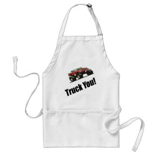 Funny Truck You T-shirts Gifts Standard Apron