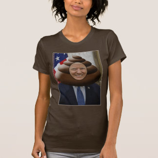 Funny Trump Poop Emoji Head T-Shirt