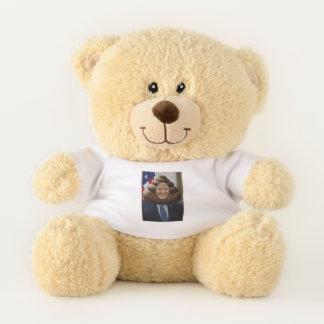 Funny Trump Poop Emoji Head Teddy Bear