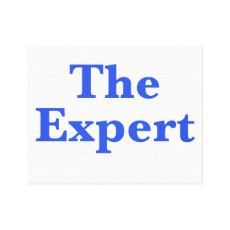 Funny Trump The Expert shirt Canvas Print