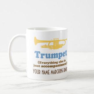 Funny Trumpet Joke Personalized Band Music Mug