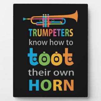 Funny Trumpet Plaque