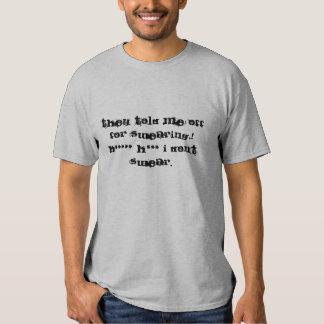 Funny tshirt, *** I don't swear Tee Shirts