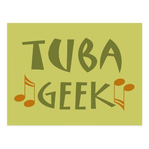 Funny Tuba Geek Gift Postcards