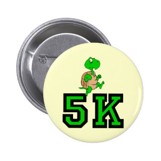 Funny turtle 5K 6 Cm Round Badge