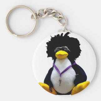 Funny Tux Key ring