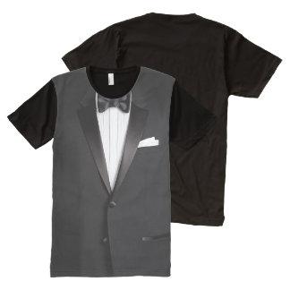 Funny Tuxedo All-Over Print T-Shirt