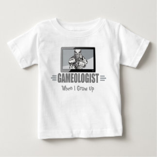 "Funny TV Football Fan Title - ""GAMEOLOGIST"" Baby T-Shirt"