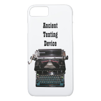 Funny Typewriter Ancient Texting Device iPhone 7 Case